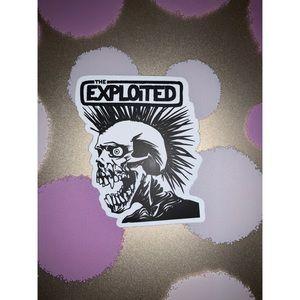 The Exploited Sticker